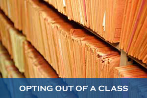 Class actions - opting-out-of-a-class